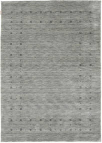 Loribaf Loom Delta - Grey Rug 160X230 Modern Light Grey/Turquoise Blue (Wool, India)