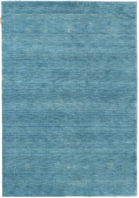 Loribaf ルーム Giota - 青 絨毯 140X200 モダン 青/ターコイズブルー (ウール, インド)