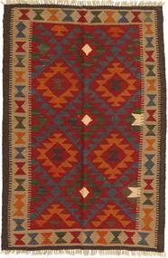 Kilim Maimane Rug 97X149 Authentic  Oriental Handwoven Rust Red/Dark Brown (Wool, Afghanistan)
