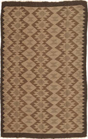 Kilim Rug 153X247 Authentic  Oriental Handwoven Light Brown/Brown (Wool, Persia/Iran)
