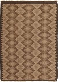 Kilim Rug 163X231 Authentic Oriental Handwoven Brown/Light Brown (Wool, Persia/Iran)