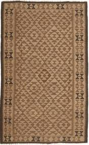 Kilim Rug 151X247 Authentic  Oriental Handwoven Brown/Light Brown (Wool, Persia/Iran)