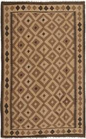 Kilim Rug 153X250 Authentic  Oriental Handwoven Brown/Light Brown (Wool, Persia/Iran)