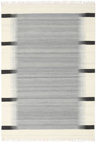 Ikat - Grey Rug 160X230 Authentic  Modern Handwoven Light Grey/Beige (Wool, India)