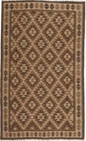 Kilim Maimane Rug 150X243 Authentic Oriental Handwoven Brown/Light Brown/Dark Brown (Wool, Afghanistan)