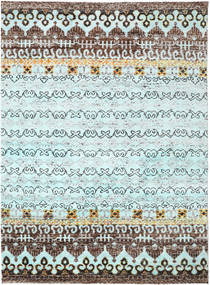 Quito - L. Blue Rug 280X380 Authentic  Modern Handknotted Light Blue/Light Grey Large (Silk, India)