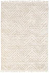 Bambù Di Seta Vanice - Vanice Greige Tappeto 160X230 Moderno Fatto A Mano Beige/Grigio Chiaro ( India)