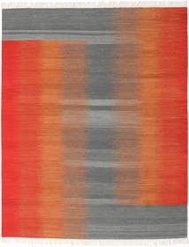 Ikat - Röd / Grå matta CVD17524