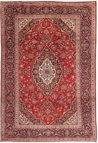 Keshan Matto 210X308 Itämainen Käsinsolmittu Tummanpunainen/Ruskea (Villa, Persia/Iran)