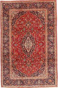 Keshan Tappeto 207X308 Orientale Fatto A Mano Rosso Scuro/Ruggine/Rosso (Lana, Persia/Iran)