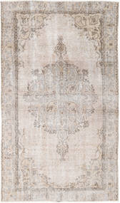 Colored Vintage Rug 115X200 Authentic  Modern Handknotted White/Creme/Dark Grey (Wool, Turkey)