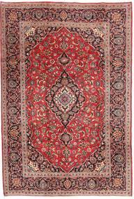 Keshan Matto 196X290 Itämainen Käsinsolmittu Ruskea/Tummanpunainen (Villa, Persia/Iran)