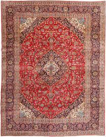 Keshan Matta 300X391 Äkta Orientalisk Handknuten Mörkröd/Roströd Stor (Ull, Persien/Iran)