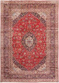 Keshan Matto 245X345 Itämainen Käsinsolmittu Ruskea/Tummanpunainen (Villa, Persia/Iran)