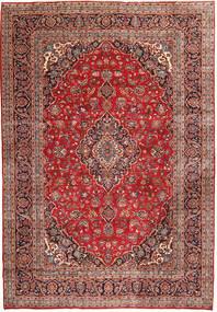 Keshan Rug 248X356 Authentic  Oriental Handknotted Brown/Dark Brown (Wool, Persia/Iran)