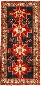 Ardebil Rug 151X313 Authentic  Oriental Handknotted Hallway Runner  Rust Red/Dark Green (Wool, Persia/Iran)