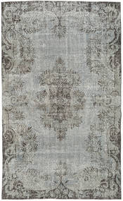 Colored Vintage Rug 170X281 Authentic  Modern Handknotted Dark Grey/Light Grey (Wool, Turkey)