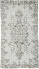 Colored Vintage Rug 159X291 Authentic  Modern Handknotted Light Grey (Wool, Turkey)