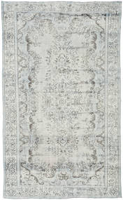 Colored Vintage Rug 183X307 Authentic  Modern Handknotted Light Grey/Beige (Wool, Turkey)