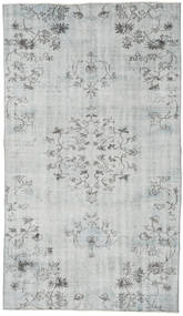 Colored Vintage Rug 141X247 Authentic  Modern Handknotted Light Grey/Beige (Wool, Turkey)