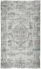 Colored Vintage Rug 149X261 Authentic  Modern Handknotted Light Grey/Dark Grey (Wool, Turkey)