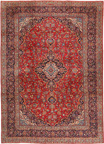 Keshan Rug 296X406 Authentic  Oriental Handknotted Dark Red/Rust Red Large (Wool, Persia/Iran)