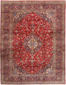 Keshan Matta 292X374 Äkta Orientalisk Handknuten Brun/Roströd Stor (Ull, Persien/Iran)