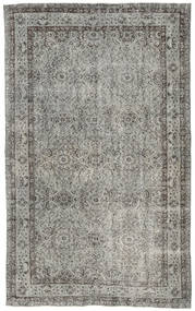 Colored Vintage Rug 153X253 Authentic  Modern Handknotted Light Grey/Dark Grey (Wool, Turkey)
