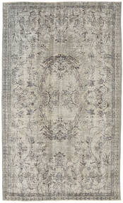 Colored Vintage Rug 161X268 Authentic  Modern Handknotted Light Grey (Wool, Turkey)