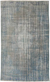 Colored Vintage Rug 187X310 Authentic  Modern Handknotted Light Grey/Dark Grey (Wool, Turkey)