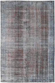 Colored Vintage Rug 188X284 Authentic  Modern Handknotted Light Grey/Dark Grey (Wool, Turkey)