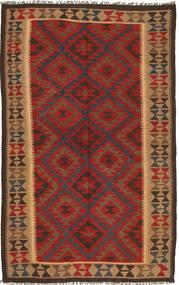Kilim Maimane Szőnyeg 150X247 Keleti Kézi Szövésű Sötétpiros/Sötétszürke (Gyapjú, Afganisztán)