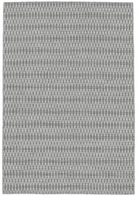 Kilim Long Stitch - Gris Tapis 140X200 Moderne Tissé À La Main Gris Clair/Blanc/Crème (Laine, Inde)