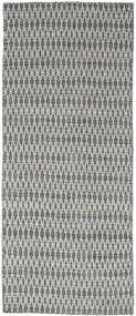 Kilim Long Stitch - Dark Grey rug CVD18834