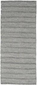 Kelim Long Stitch - Mørk Grå teppe CVD18834