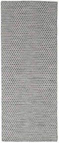 Kilim Honey Comb - Mid Grey rug CVD18774
