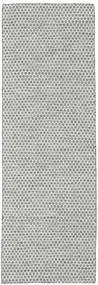 Kilim Honey Comb - Mid Grey carpet CVD18771