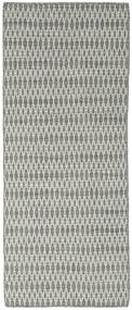 Kilim Long Stitch - Grey rug CVD18822