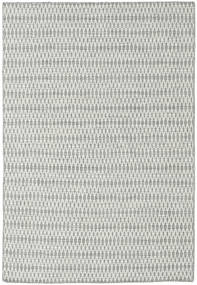 Kilim Long Stitch - Grey Rug 160X230 Authentic  Modern Handwoven Light Grey/Beige (Wool, India)