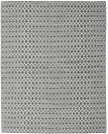 Kilim Long Stitch - Black/Grey Rug 240X300 Authentic  Modern Handwoven Light Grey/Dark Grey (Wool, India)