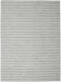 Kilim Long Stitch - Dark Grey rug CVD18824