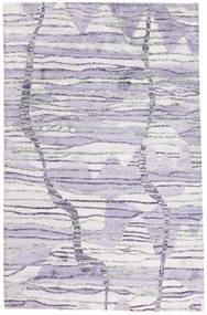 Handtufted Matto 149X237 Moderni Vaaleanvioletti/Beige (Villa, Intia)