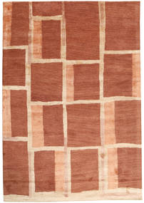 Handtufted Rug 170X242 Modern Crimson Red/Beige (Wool, India)