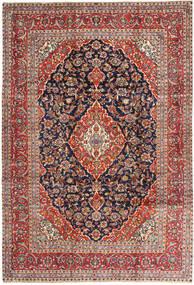 Keshan Matto 243X355 Itämainen Käsinsolmittu Tummanpunainen/Musta (Villa, Persia/Iran)