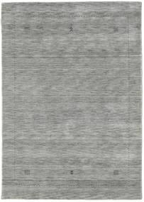 Loribaf Loom Giota - Grå Tæppe 140X200 Moderne Lysegrå (Uld, Indien)