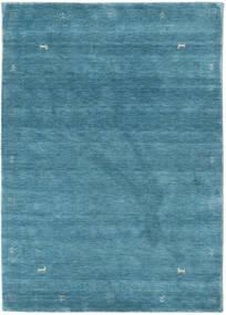 Loribaf ルーム Zeta - 青 絨毯 140X200 モダン 青/ターコイズ (ウール, インド)