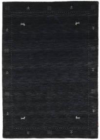 Loribaf Loom Zeta - Black/Grey Rug 120X180 Modern Dark Blue (Wool, India)