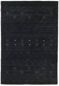 Loribaf Loom Eta - Black / Grey carpet CVD18006