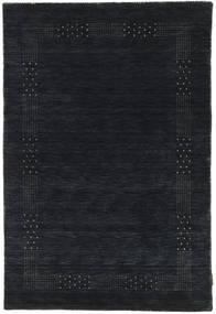 Loribaf Loom Beta - Musta/Harmaa Matto 120X180 Moderni Musta (Villa, Intia)