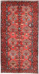 Lori Tapete 153X290 Oriental Feito A Mão Castanho Escuro/Laranja (Lã, Pérsia/Irão)